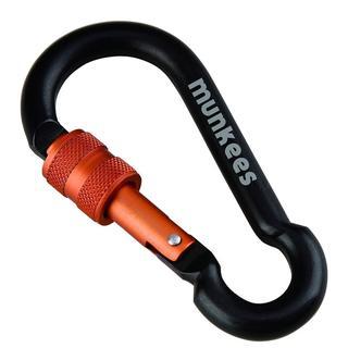 Munkees Pear-Shape Carabiner W/Screw Lock8Mm X 8Cm Anahtarlık