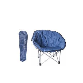 Summıt Orca Relax Konforlu & Takviyeli Katlanır Sandalye Blue Sandalye