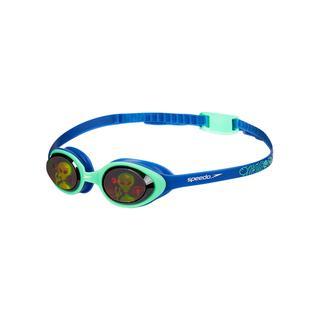 Speedo llusıon 3D Prt Ju Blue-Green Çocuk Yüzücü Gözlüğü