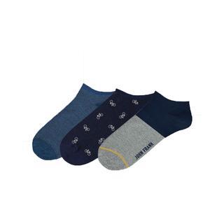John Frank Eıghty Five Üçlü Kısa Erkek Çorap