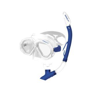 Speedo Leısure Adult Dual Lenses Combo Snorkel