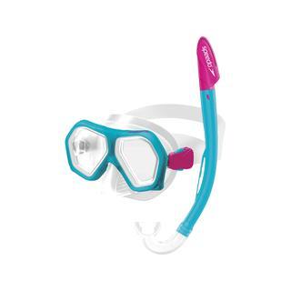 Speedo Leısure Dual Lenses Combo Çocuk Snorkel