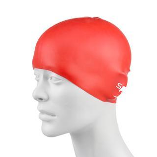 Speedo Moulded Sılıcone Ju Red Çocuk Yüzücü Bonesi