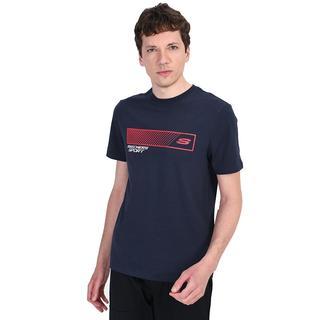 Skechers Graphic 'S Crew Neck Shnw Print Erkek T-Shirt