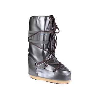 Moon Boot Vinile Met Silver Kadın Kar Botu