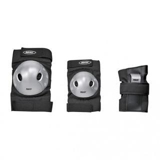 Roces Basıc Three Pack Black/Grey Çocuk Koruma Ekipmanı