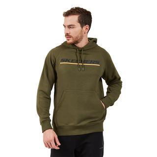Skechers Lw Fleece Logo Printed Hoodie Erkek Sweatshırt