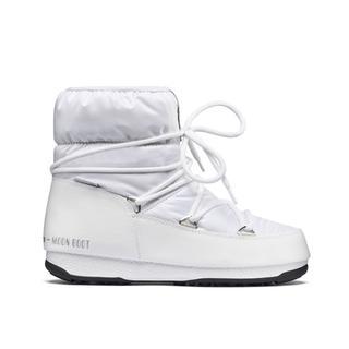 Moon Boot W.E. Low Nylon White/Silver Kadın Kar Botu