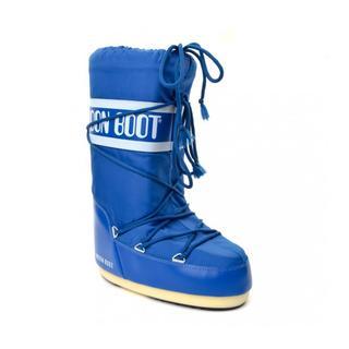 Moon Boot Nylon Electric Blue Kadın Kar Botu