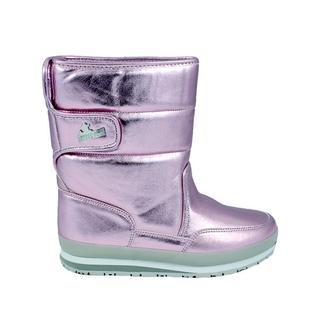 Rubber Duck Classıc Snowjoggers Patent Pink Pearl/İnci Pembe Kadın Bot