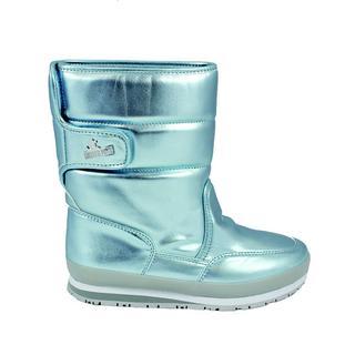 Rubber Duck Classıc Snowjoggers Patent Sky Pearl/İnci Mavi Kadın Bot