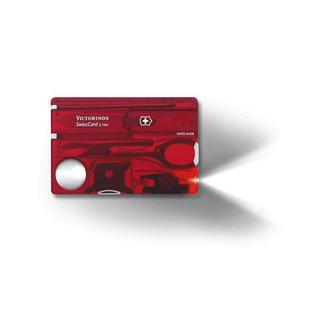Victorinox Swisscard Lite Krmzi Şeff