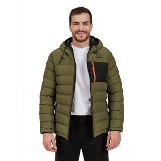 Outerwear M Contrast Pocket Padded Jacket