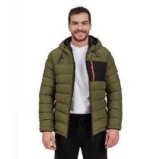 Skechers Outerwear Contrast Pocket Padded Erkek Montu