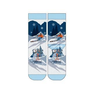 Wigglesteps Ski Winter Day - Erkek Çorap