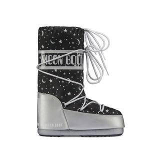 Moon Boot Universe Silver/Black 31-34 Çocuk Kar Botu