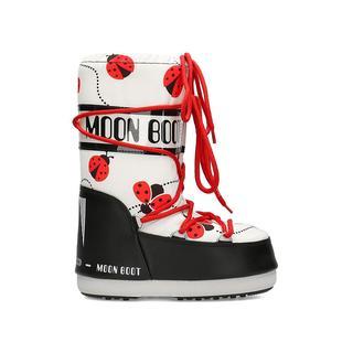 Moon Boot Ladybug Black/White/Red 31-34 Çocuk Kar Botu