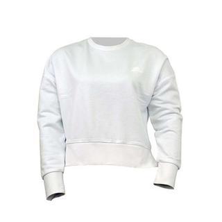 Lightweight Fleece W Low Sleeve Crew Neck Sweatshirt