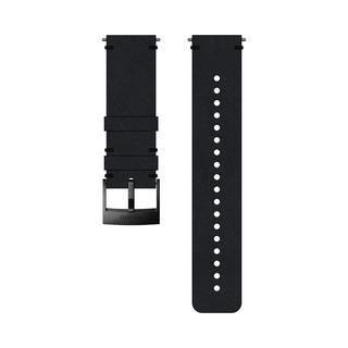 24 URB2 LEATHER STRAP BLACK/BLACK
