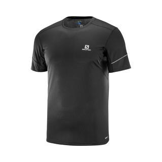 Salomon Agile Ss Black Erkek Koşu T-Shirt