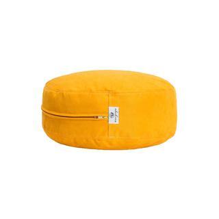 Sarı Meditasyon Minderi 33 Cm Çap