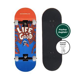 Woodenblack Life Is Good Fingerboard Complete
