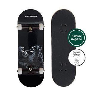 Woodenblack Black BearFingerboard Complete