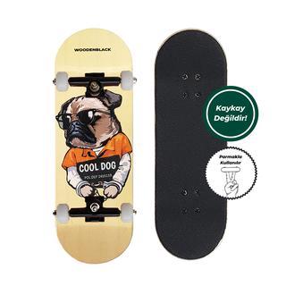 Woodenblack Cool Dog Fingerboard Complete