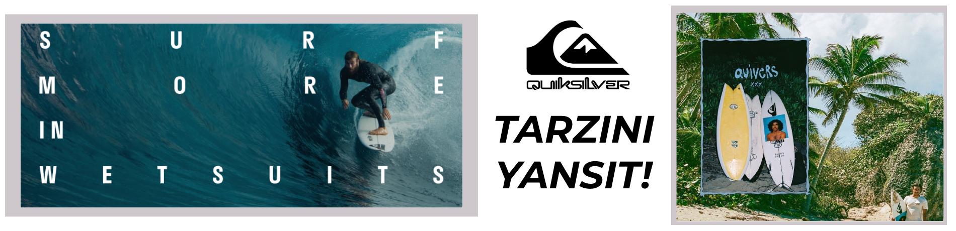 Quiksilver Kayak Snowboard Lifestyle Giyim, Çanta ve Ekipmanları